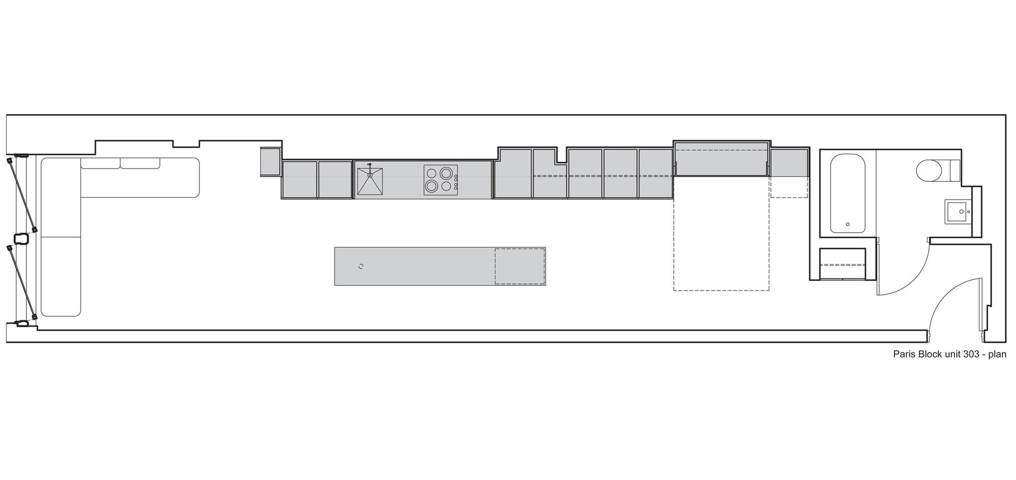Paris Block Paris Annex / Gair Williamson Architect