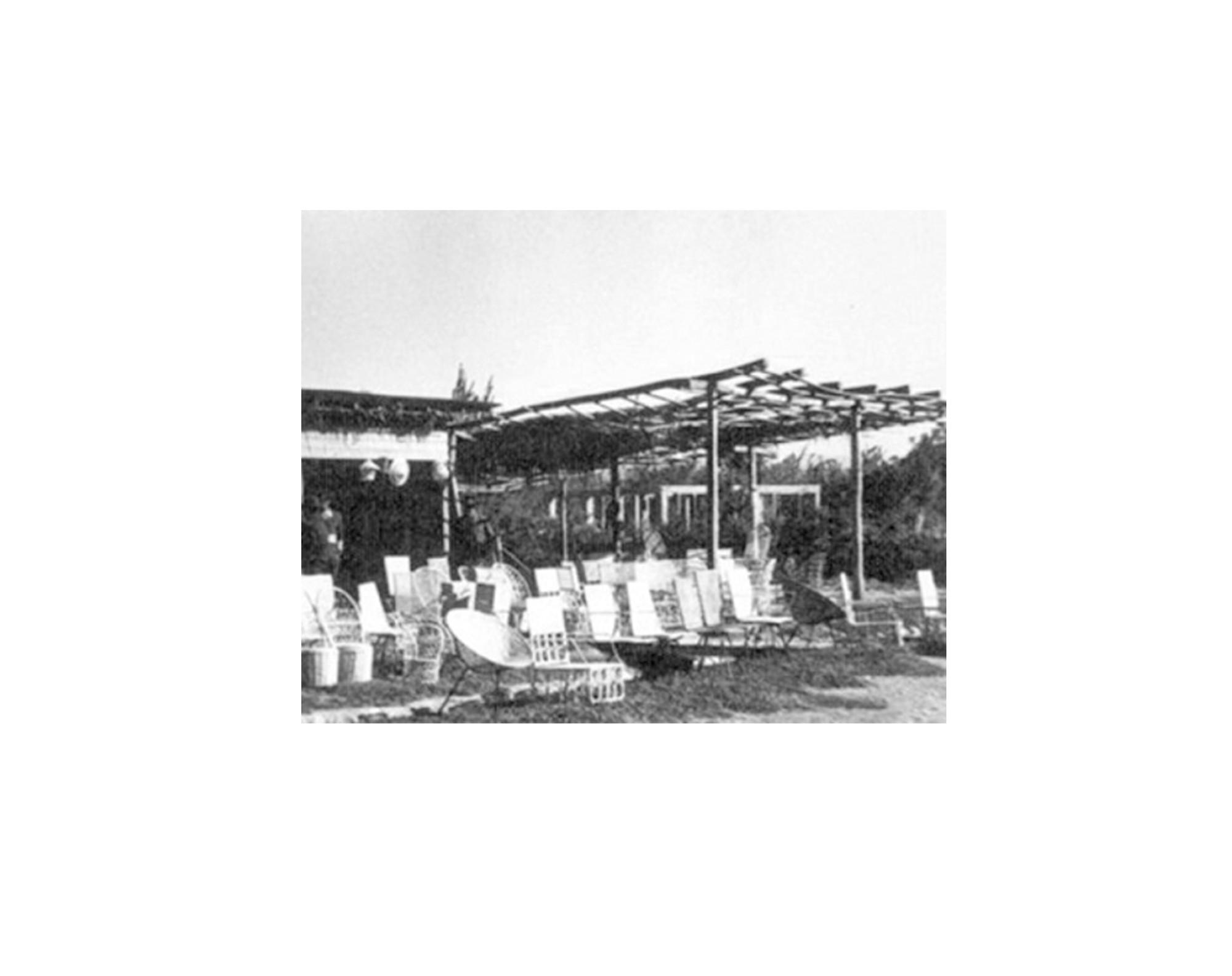 Foto histórica de Chimbarongo. Image Cortesia de Domingo Arancibia
