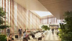 Elizabeth de Portzamparc Wins Competition to Design Le Bourget Metro Station in Paris