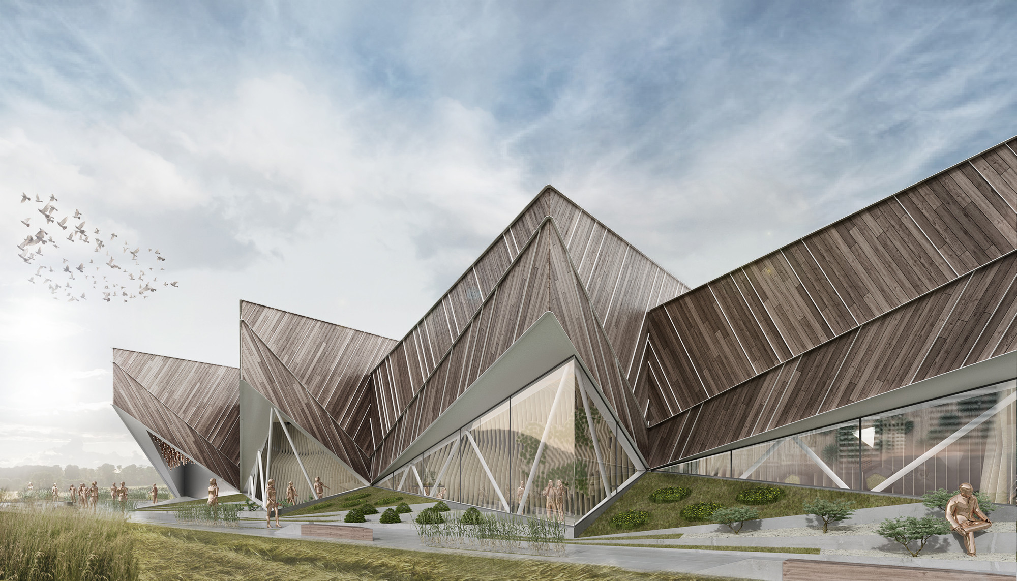 Milan Expo 2015: SoNo Arhitekti-Designed Pavilion to Represent Slovenia, Courtesy of SoNo Arhitekti