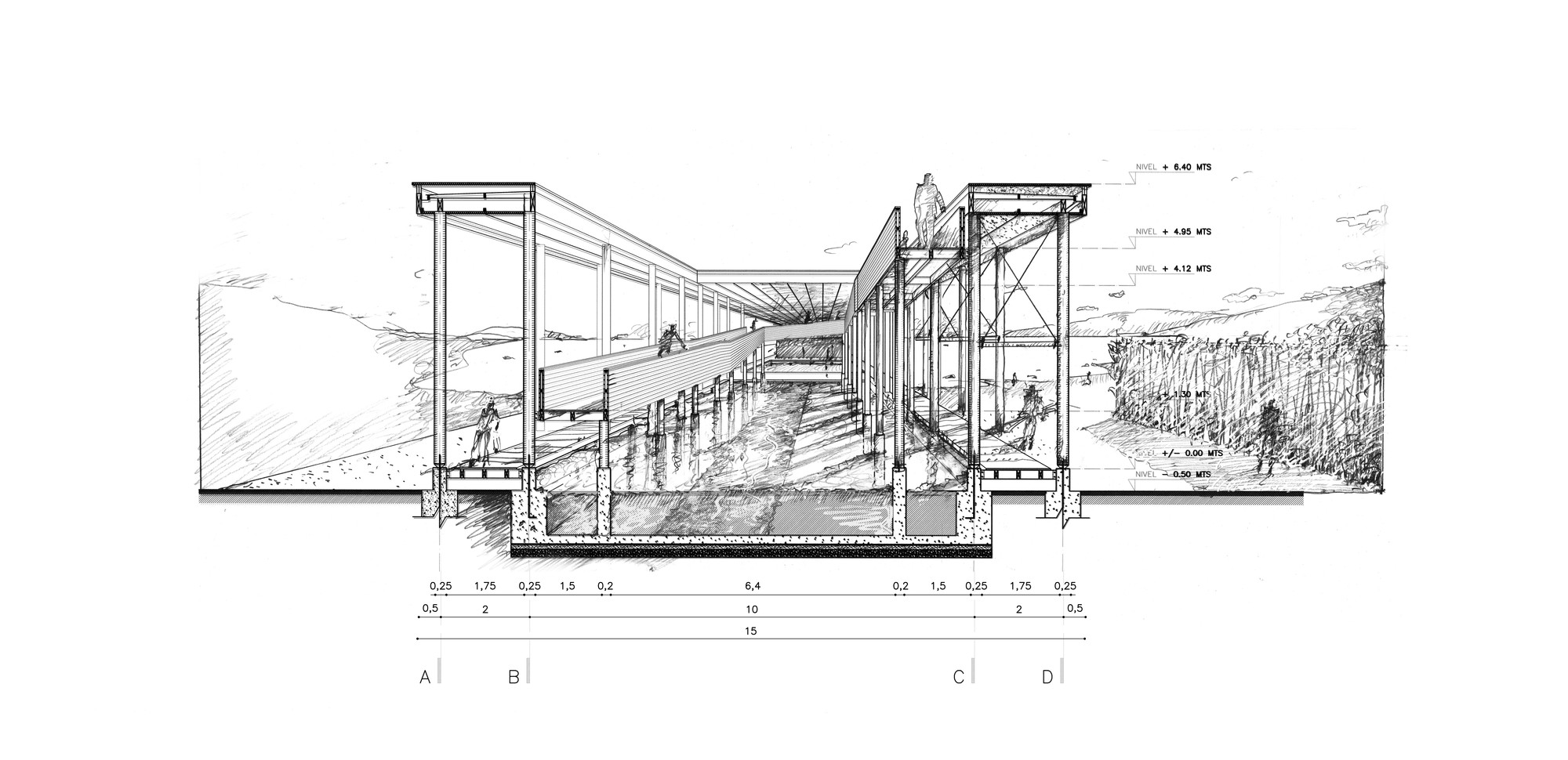 Muelle de Mimbre, un proyecto de rescate patrimonial, Cortesia de Domingo Arancibia