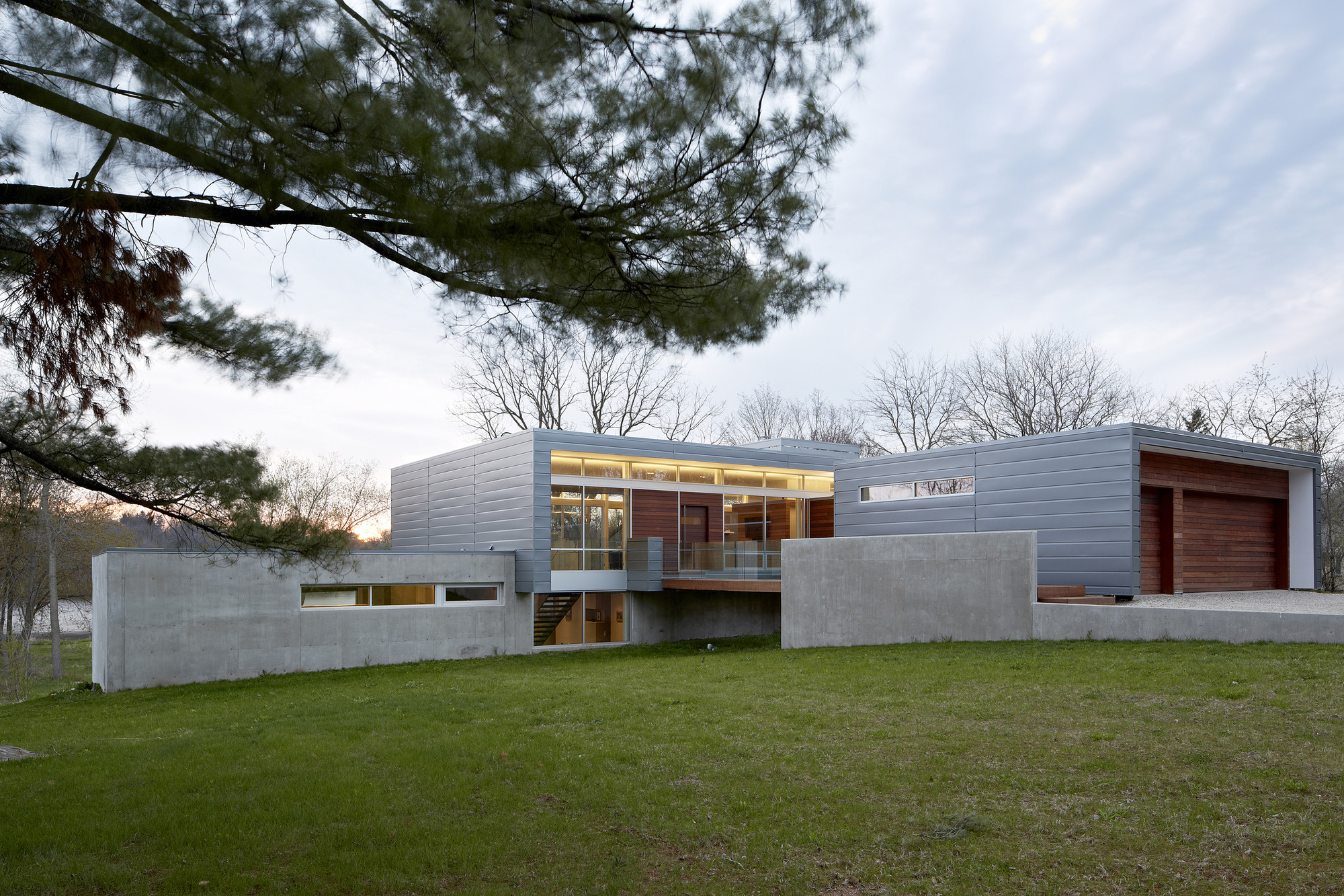 Riverview house studio dwell architects archdaily - Maison river road studio a ...