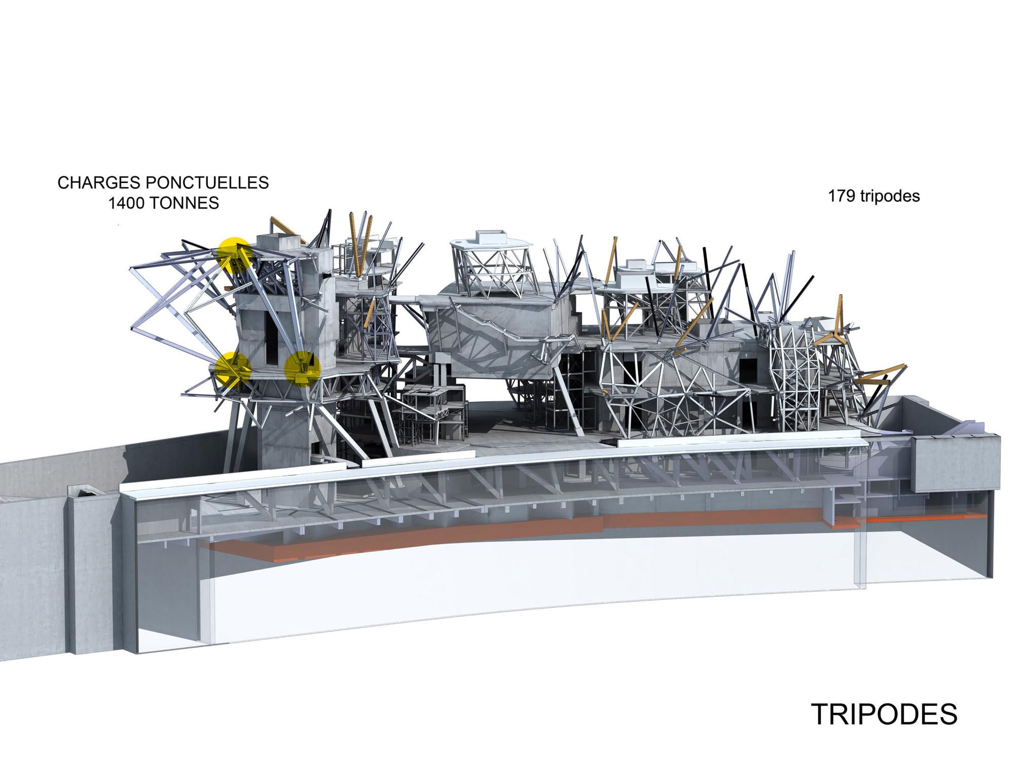 3d Floor Plan Software Gallery Of Fondation Louis Vuitton Gehry Partners 24
