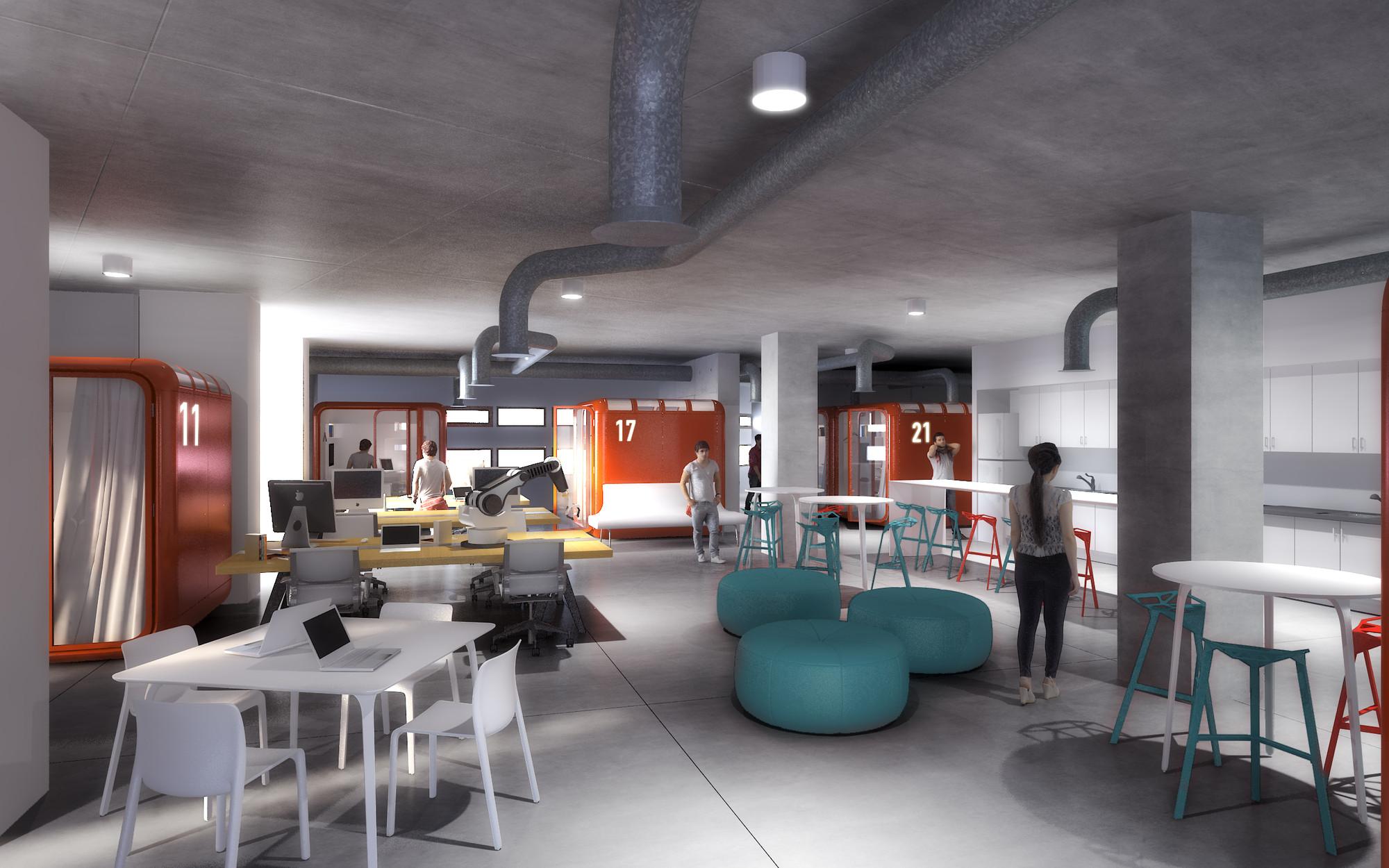 """""""Pod suite"""". Image Courtesy of Lassonde Entrepreneur Institute"""