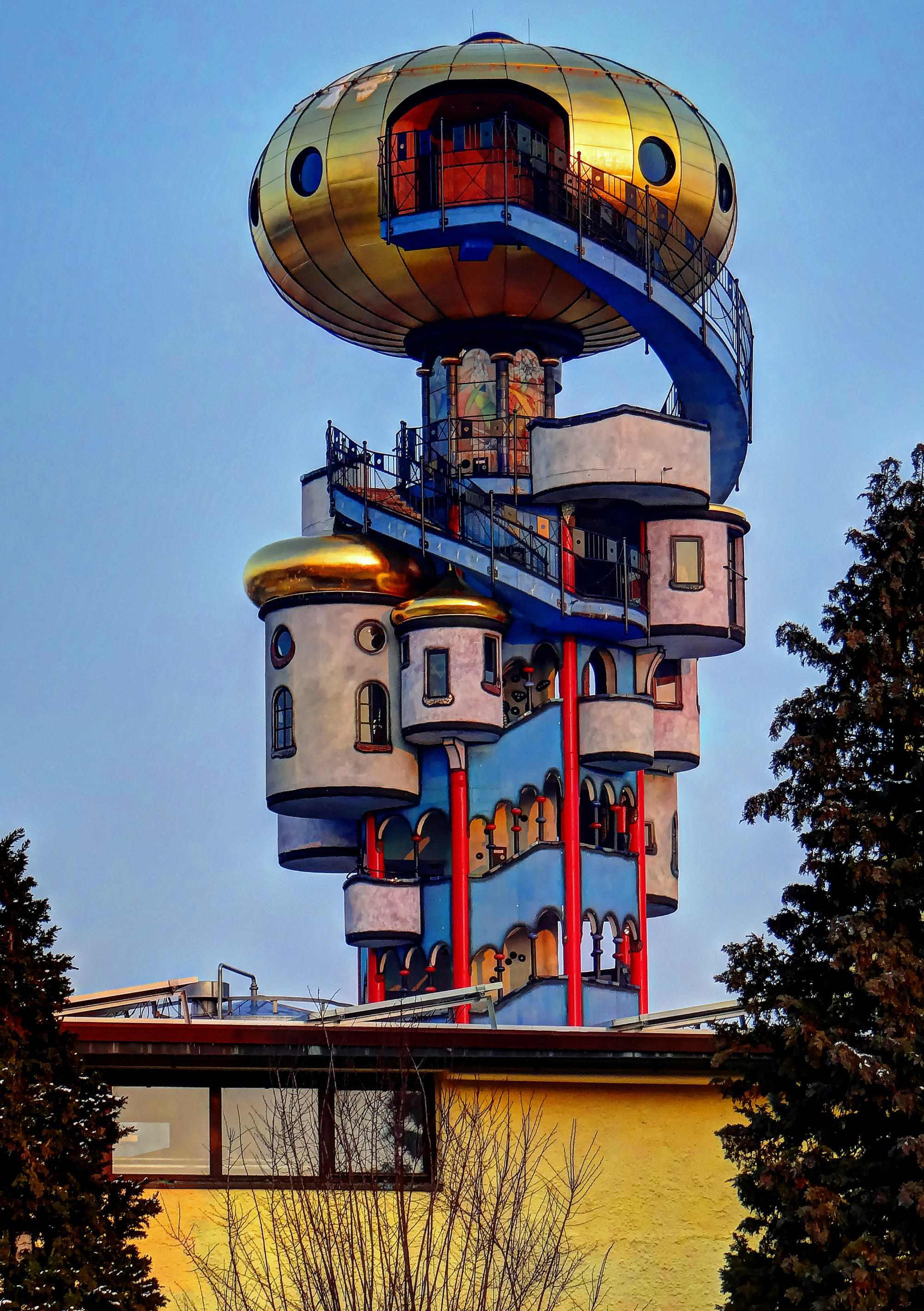 Gallery of the latest 99 invisible hundertwasser and his for Architecture hundertwasser