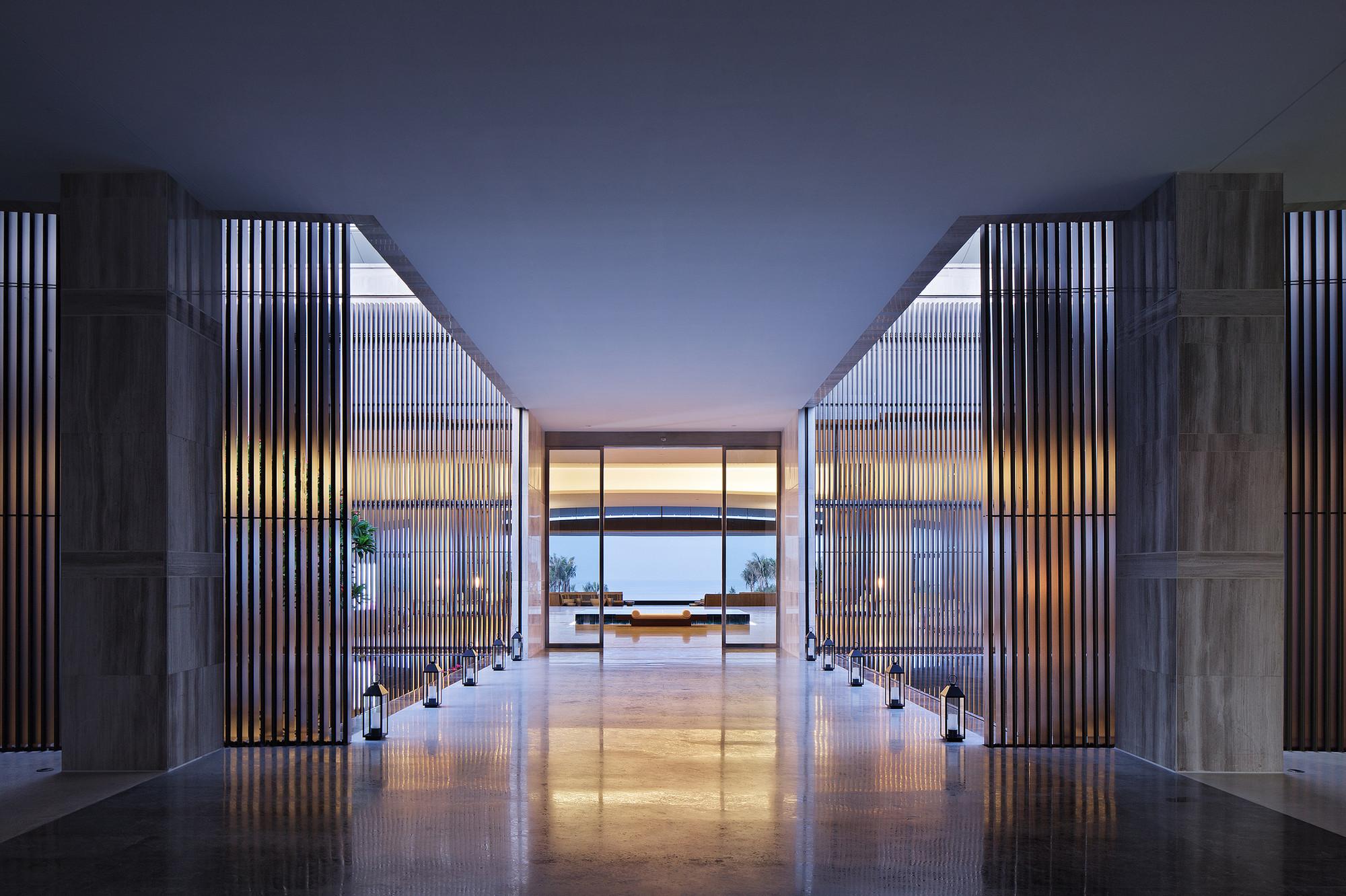 Hainan blue bay westin resort hotel gad zhejiang for Hotel architecture