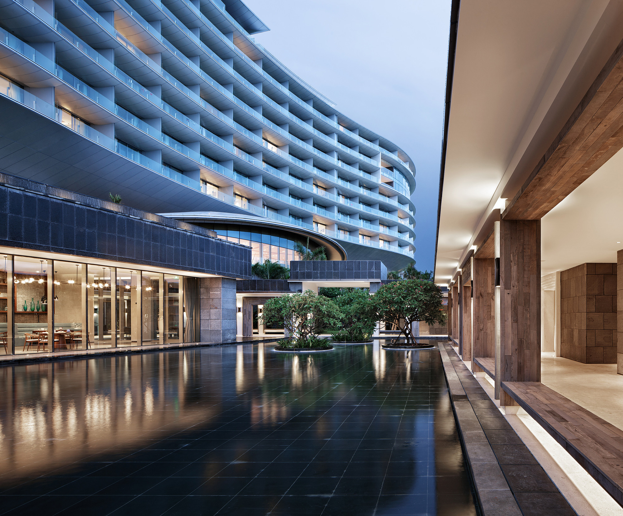 Gallery of hainan blue bay westin resort hotel gad for Resort hotel design