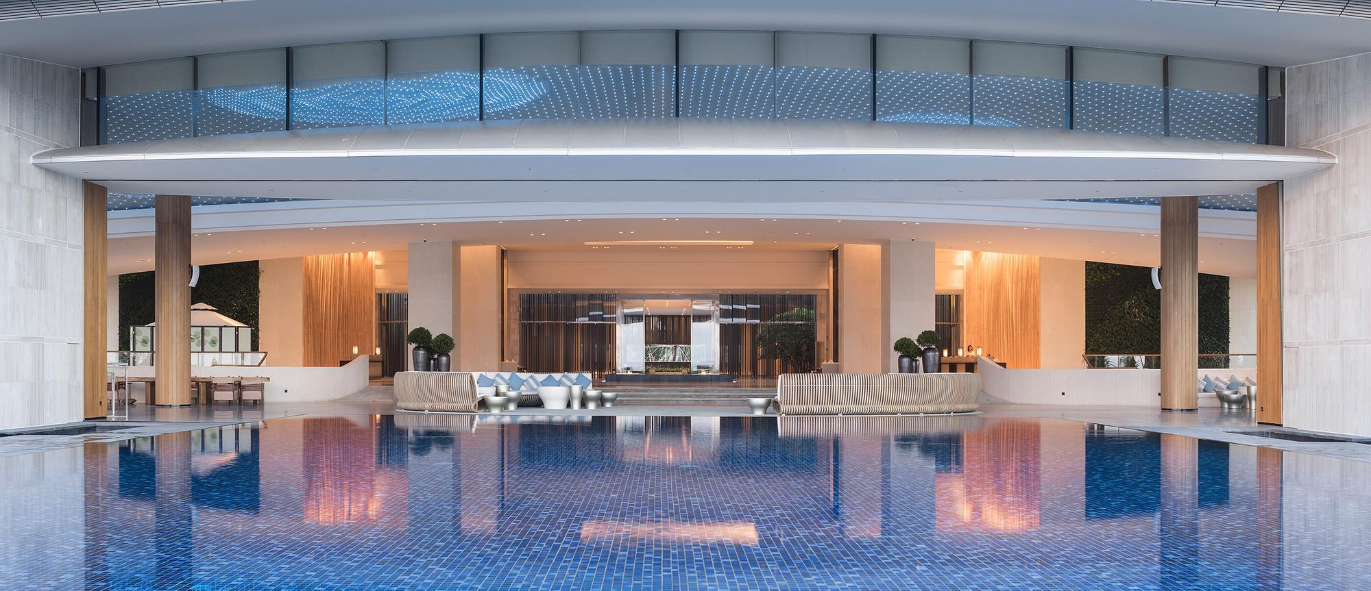 gallery of hainan blue bay westin resort hotel / gad - 7