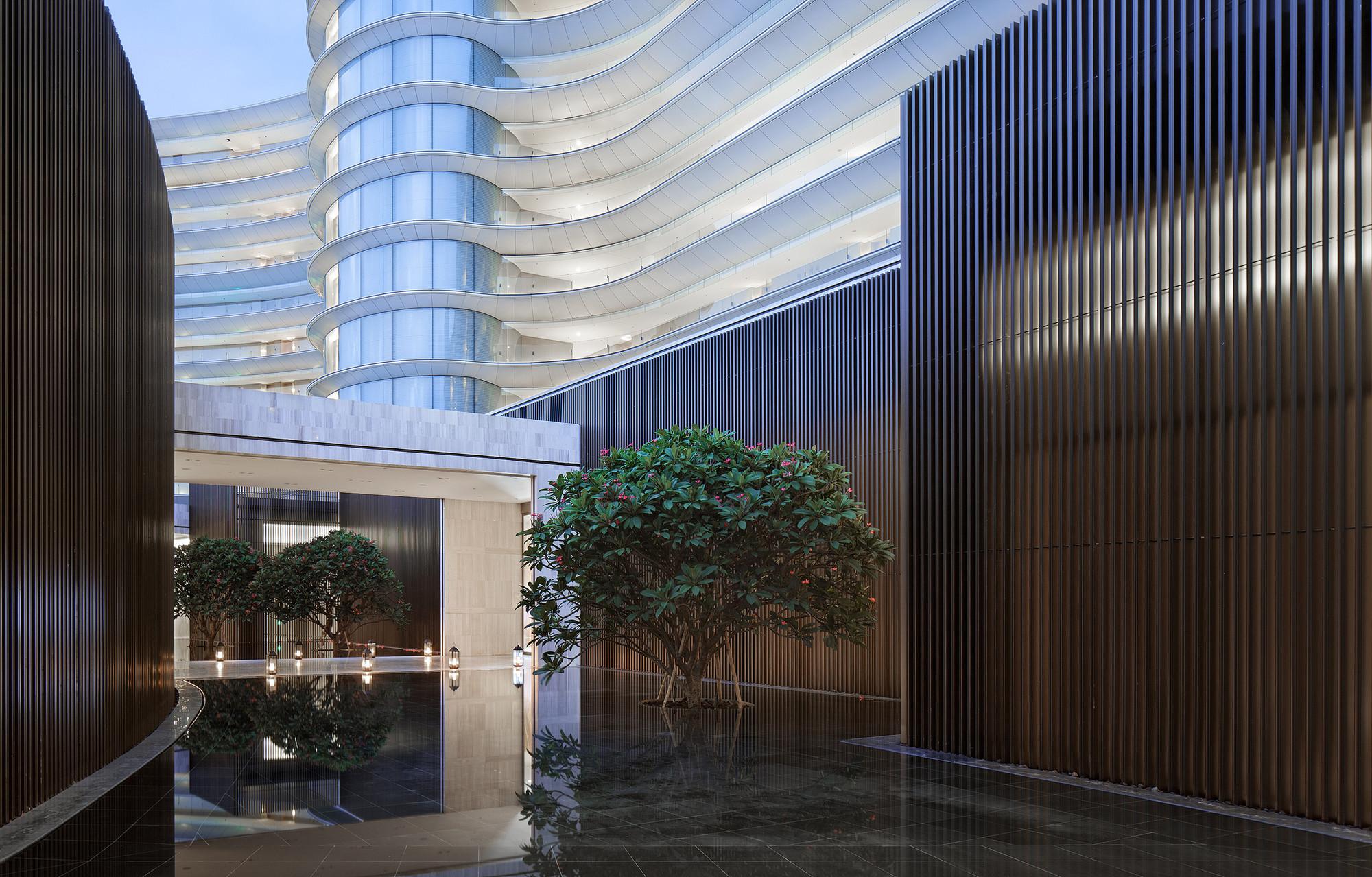 Gallery of hainan blue bay westin resort hotel gad 8 for Resort hotel design