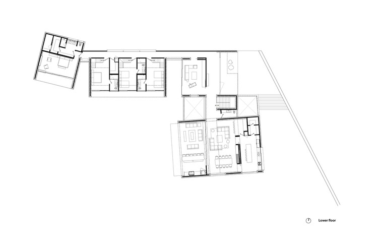 Planta Inferior (Casa A)