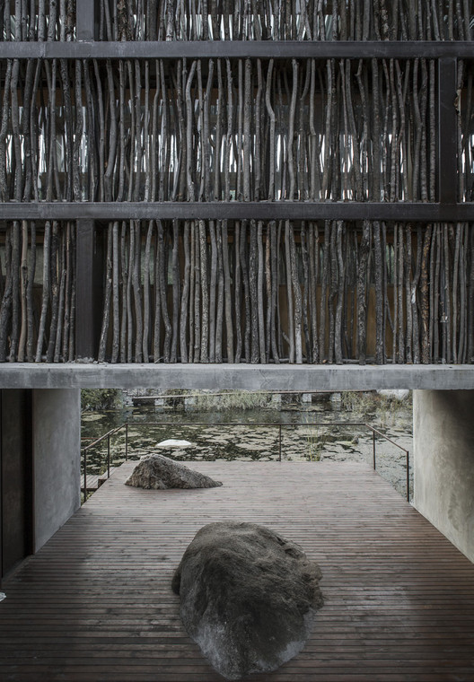 The Liyuan Library. Image Courtesy of RAIC / Li Xiaodong Studio