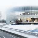 Competition Entry: OYO's Kortrijk Campus Scheme Awarded Second Prize © OYO – Open Y Office