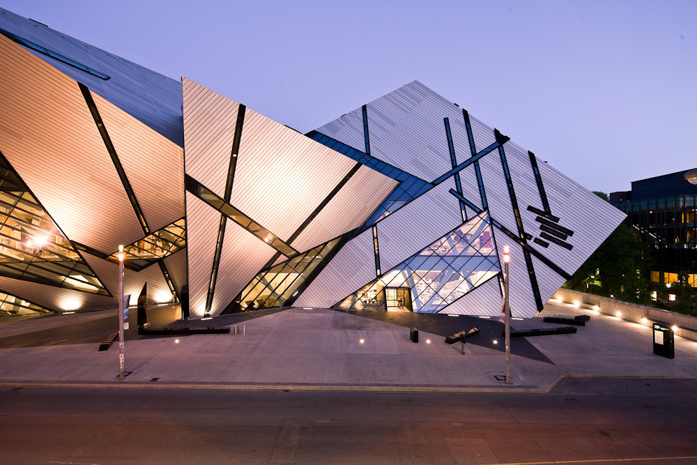 AD Round Up: Canadian Architecture to Be Thankful For, The Crystal, extension to the Royal Ontario Museum by Studio Daniel Libeskind. Image © Andrew Rowat