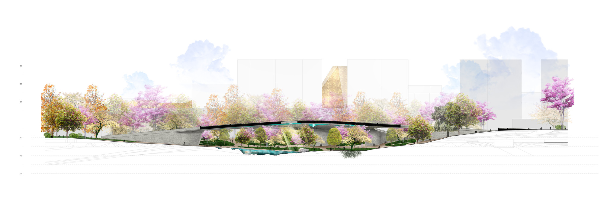 Sección. Image Cortesia de Rubio Arquitectura