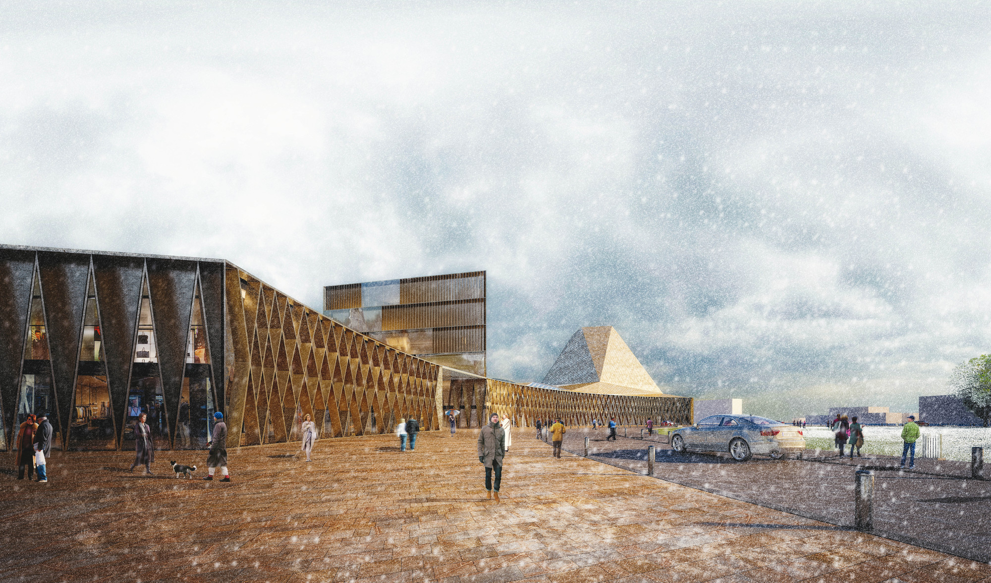 Edificios. Image Cortesia de Rubio Arquitectura