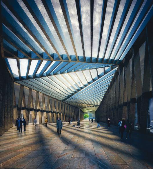 Vista Interior. Image Cortesia de Rubio Arquitectura
