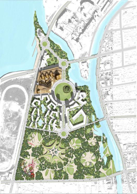 Plan general. Image Cortesia de Rubio Arquitectura