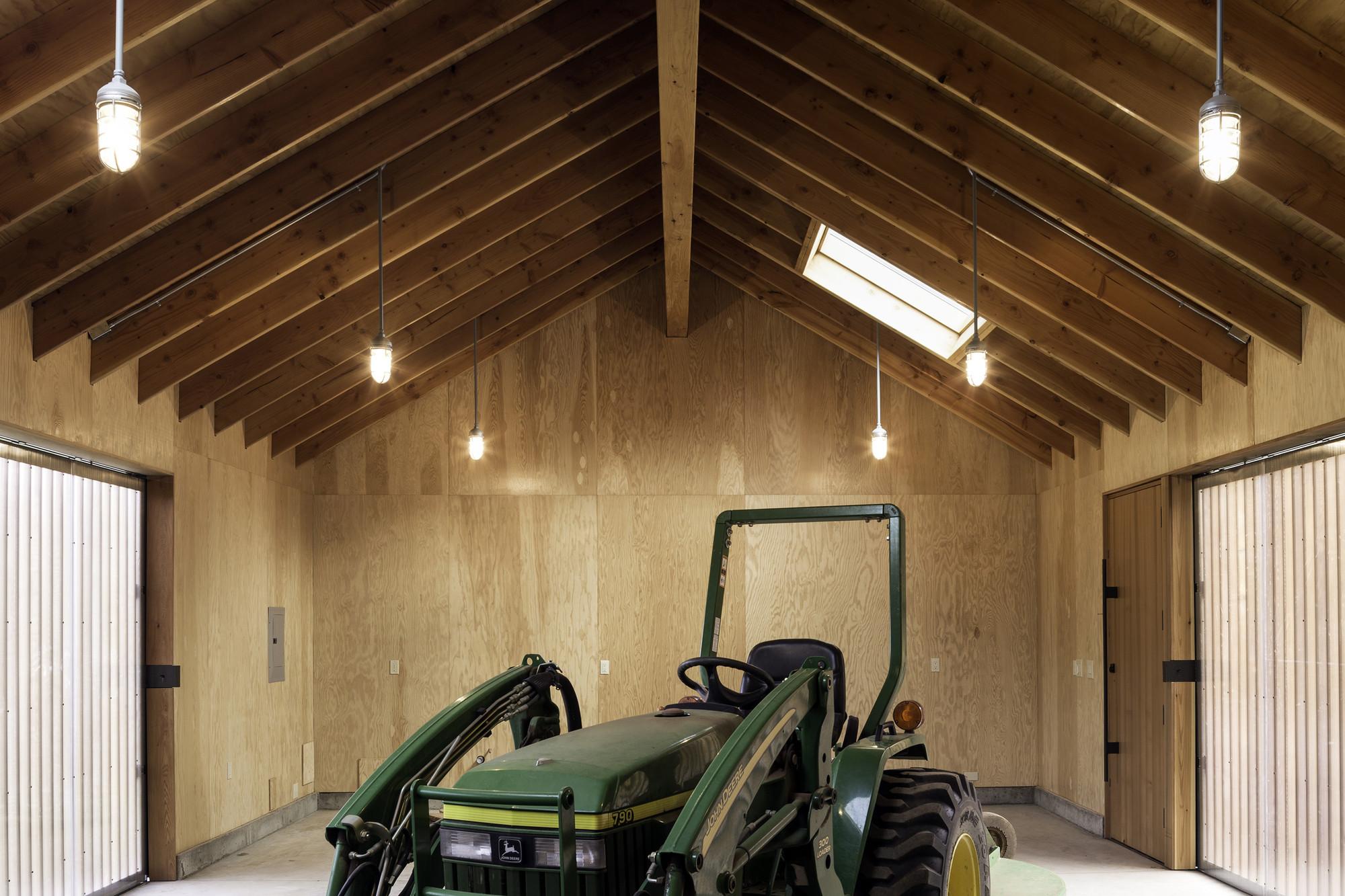 Gallery Of Elk Valley Tractor Shed Fieldwork Design