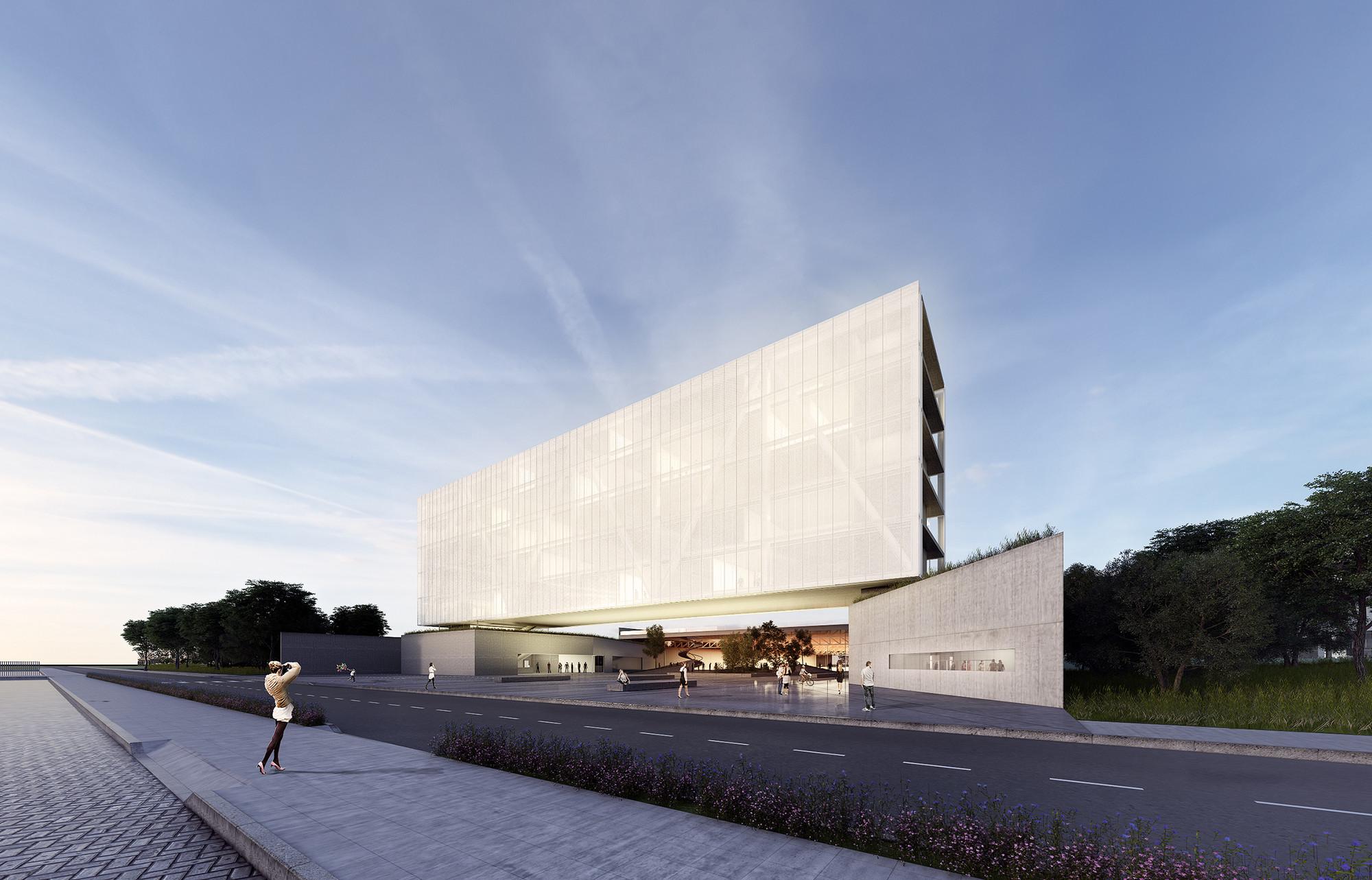 Primeiro Lugar no Concurso Nacional de Arquitetura – Campus Igara UFCSPA / OSPA , Cortesia de OSPA Arquitetura e Urbanismo