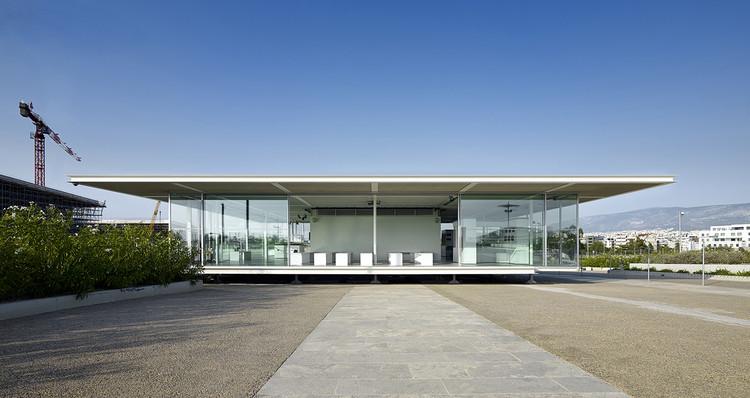 Centro de visitantes del centro cultural de la fundación Stavros Niarchos / BETAPLAN, © Yorgis Yerolymbos – SNFCC SA