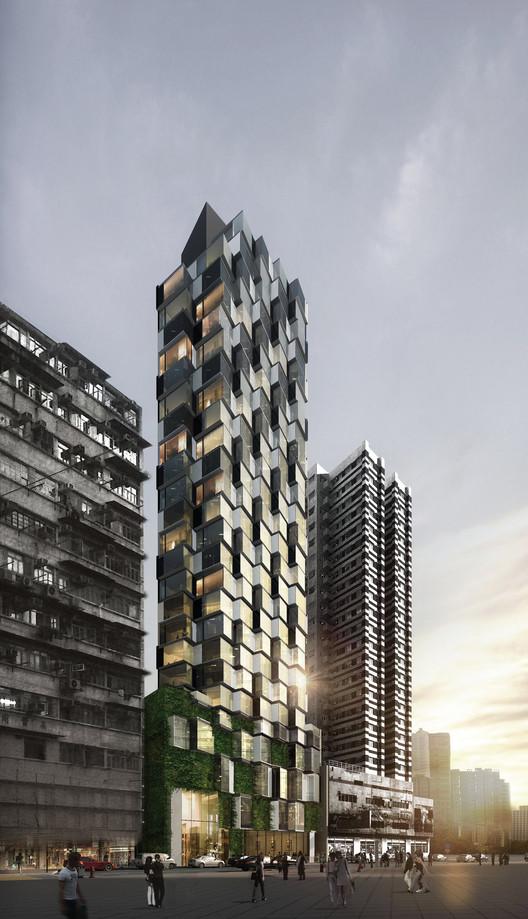 Best Future Building of the Year - Under Construction: Mongkok Residence; Hong Kong / Aedas