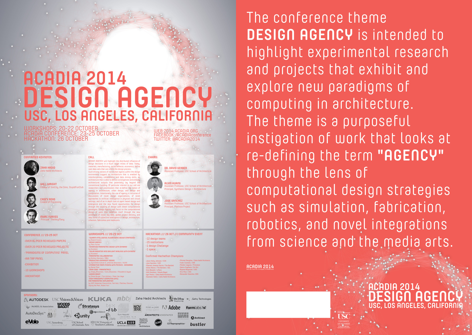 USC's ACADIA 2014 Conference to Focus on Design and Computation, © USC School of Architecture