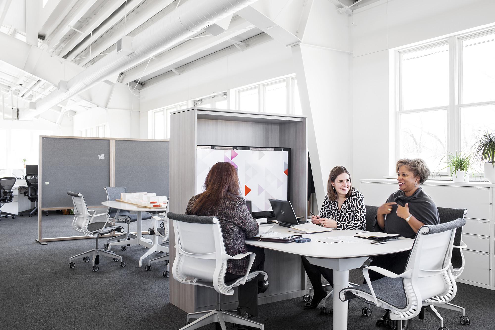 Design Yard: Headquarter de Herman Miller en Michigan (USA). Image Cortesia de Herman Miller