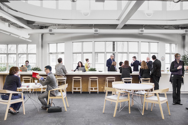 Design Yard: Headquarter de Herman Miller en Michigan (USA). Image vía Herman Miller