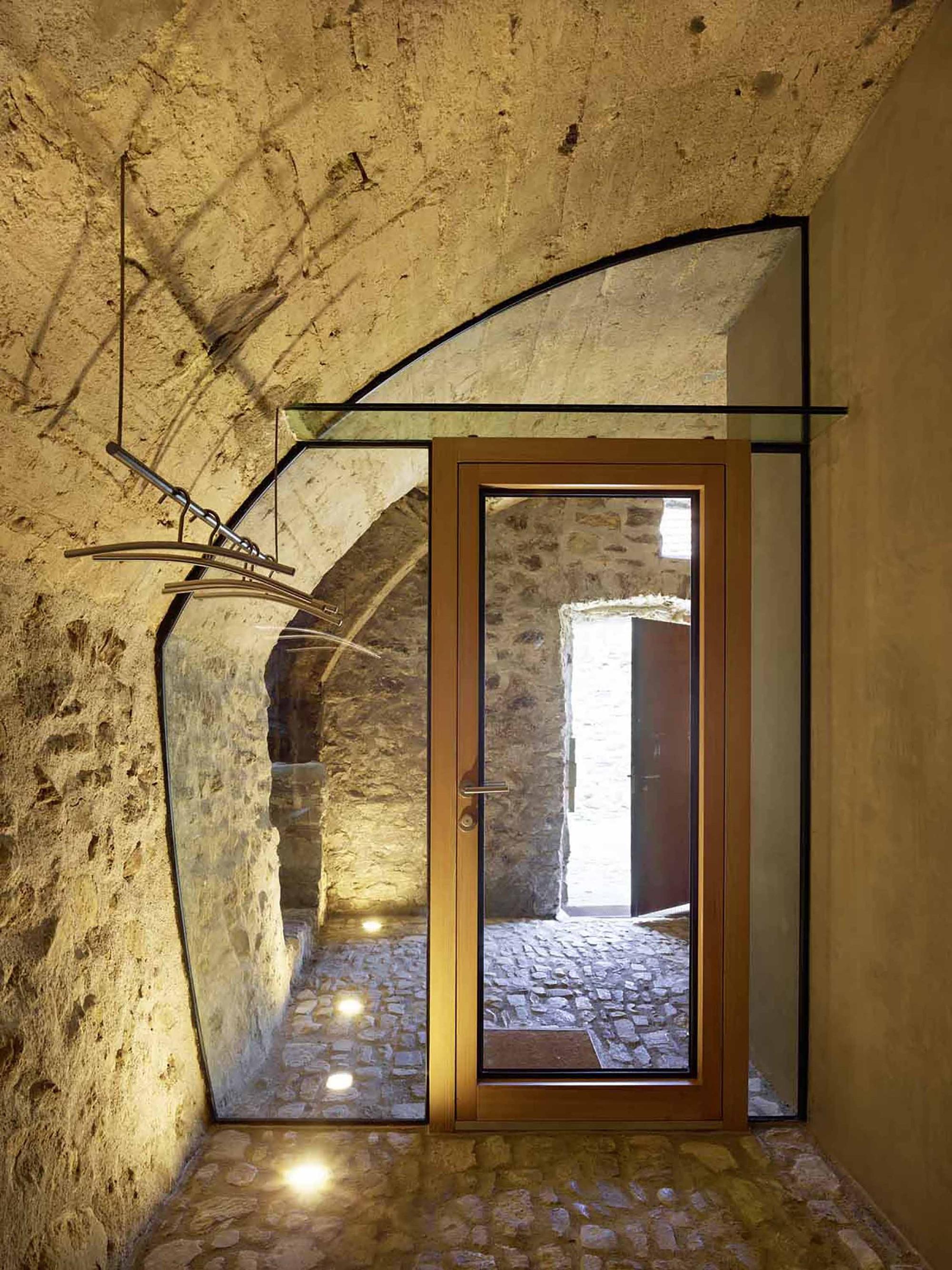 Gallery of stone house transformation in scaiano wespi - Piedra de interior ...