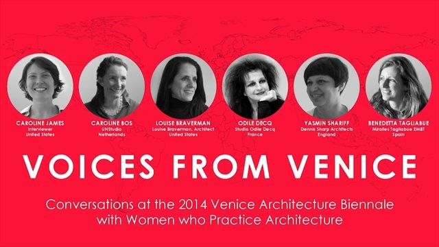 Voices From Venice: A Global Dialogue for Women in Architecture