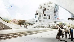 Henning Larsen Wins Competition for Future Vinge Train Station in Denmark