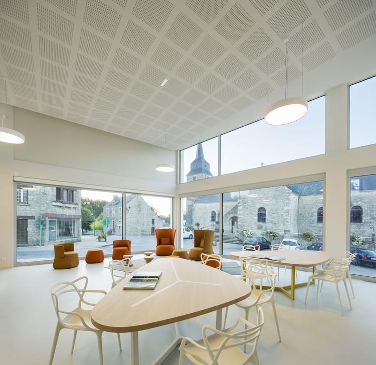 Mediateca de Monterblanc / Studio 02, © Luc Boegly