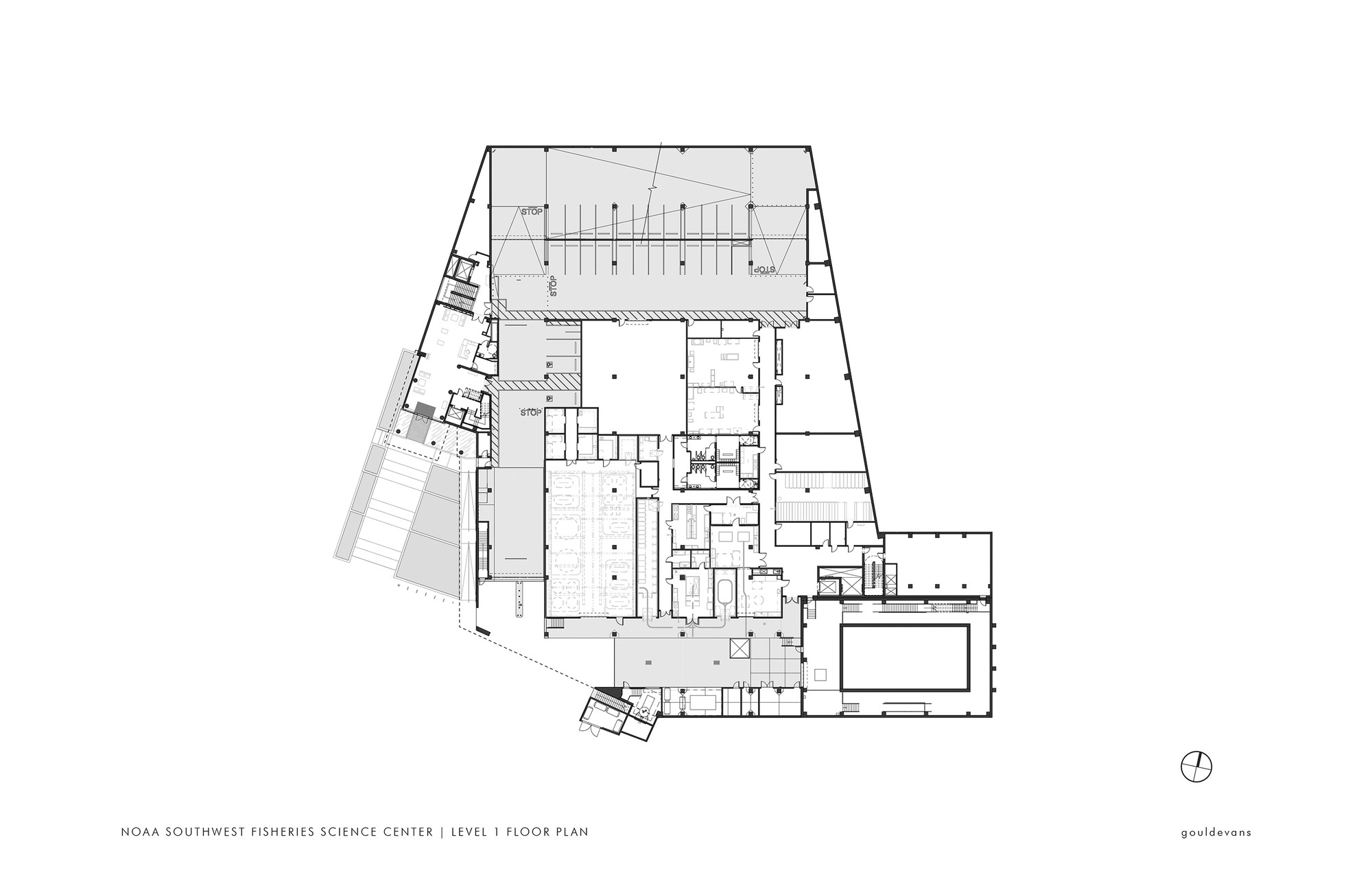 gallery of noaa southwest fisheries science center gould evans 15 floor plan