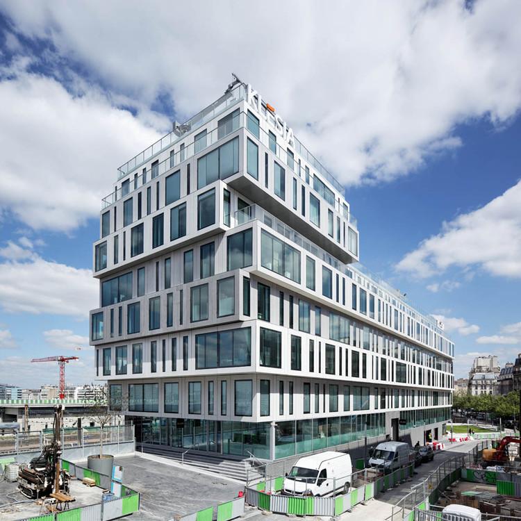 Bloque de Oficinas Strato / Hardel et Le Bihan Architectes, © Vincent Fillon