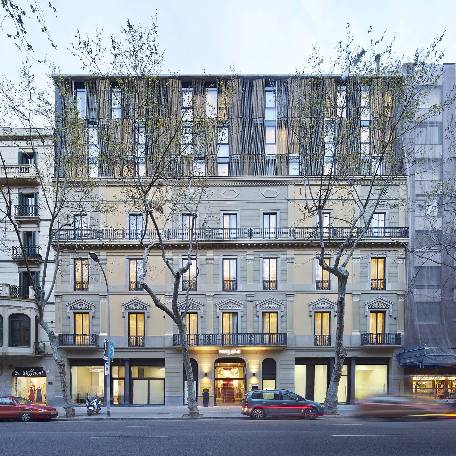 Gallery of hotel vincci gala barcelona tbi architecture - Hotel vincci barcelona ...