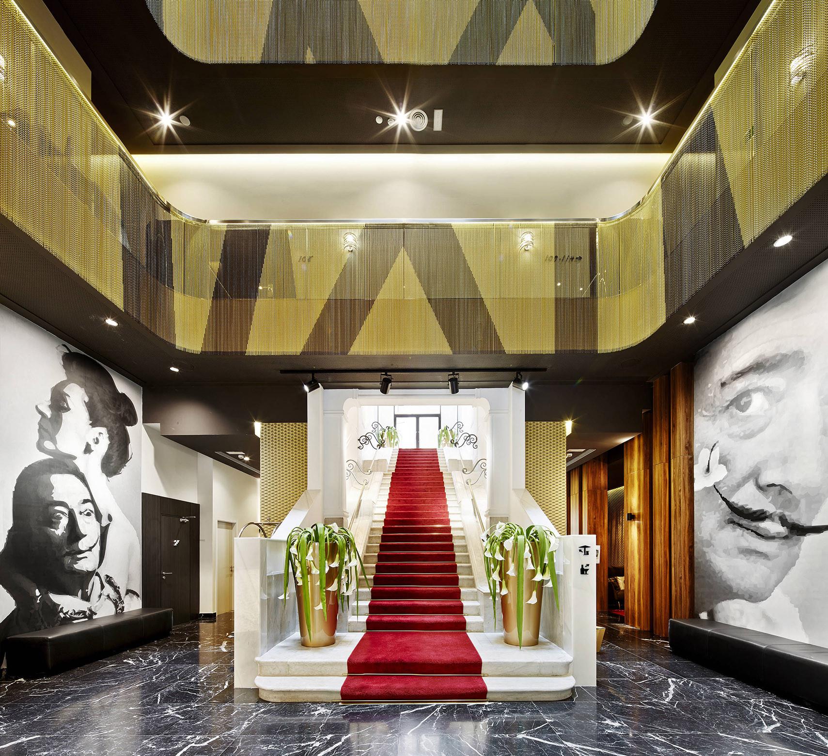 Hotel vincci gala barcelona tbi architecture - Hotel vincci barcelona ...