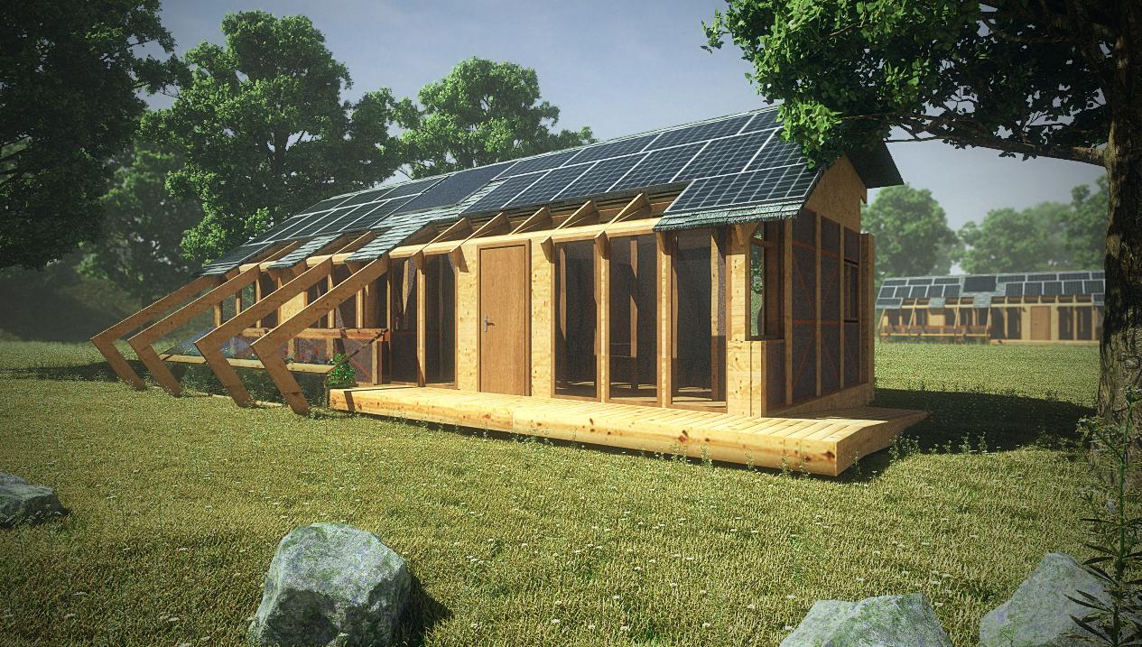 Construye Solar: Casa Made, prototipo de vivienda sustentable, © Fernando Saavedra