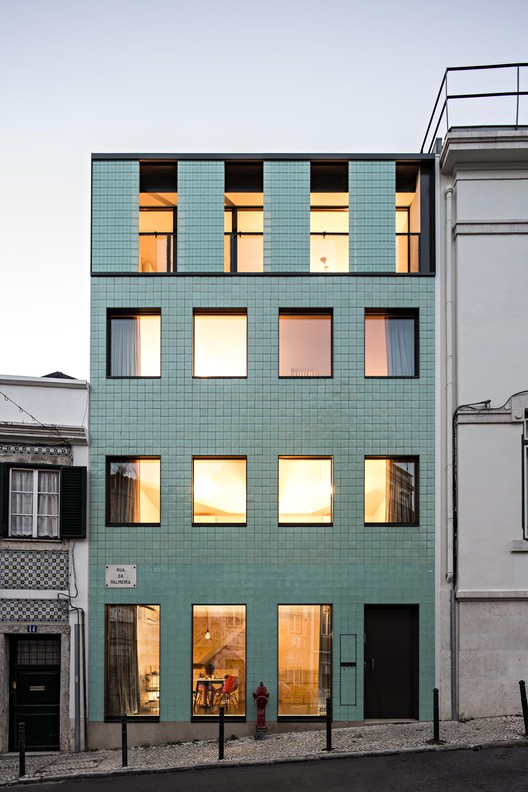 Casa no Príncipe Real / Camarim Arquitectos, © Nelson Garrido