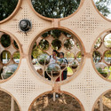 Speakers embedded in the structure play the data-composed musical soundtrack. Image Courtesy of OFL Architecture