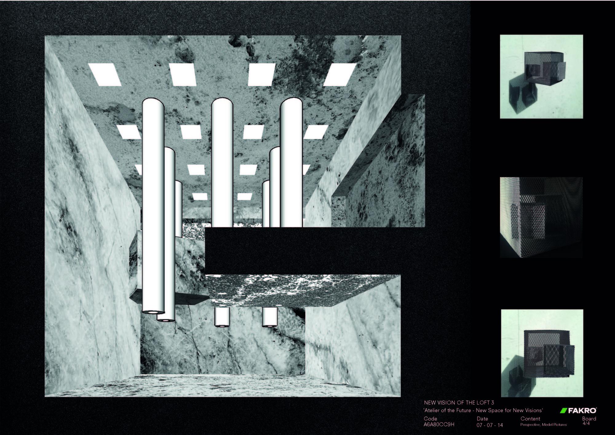 Panel 04. Image Cortesia de Oficina de Arquitectura