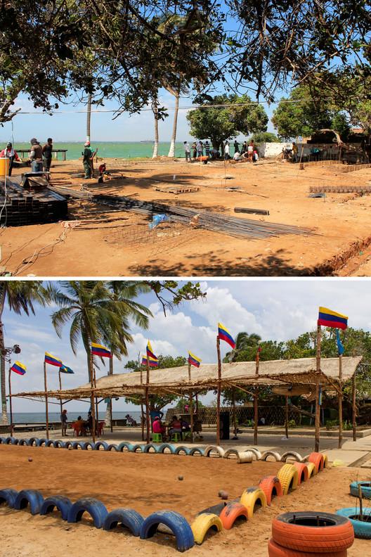 Capitán Chico, Maracaibo: antes y después. Image Cortesia de PICO Estudio