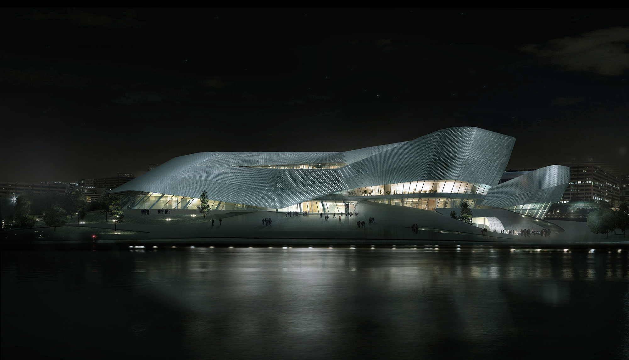 playze and Schmidhuber Selected to Design Ningbo's Urban Planning Museum, © playze and Schmidhuber