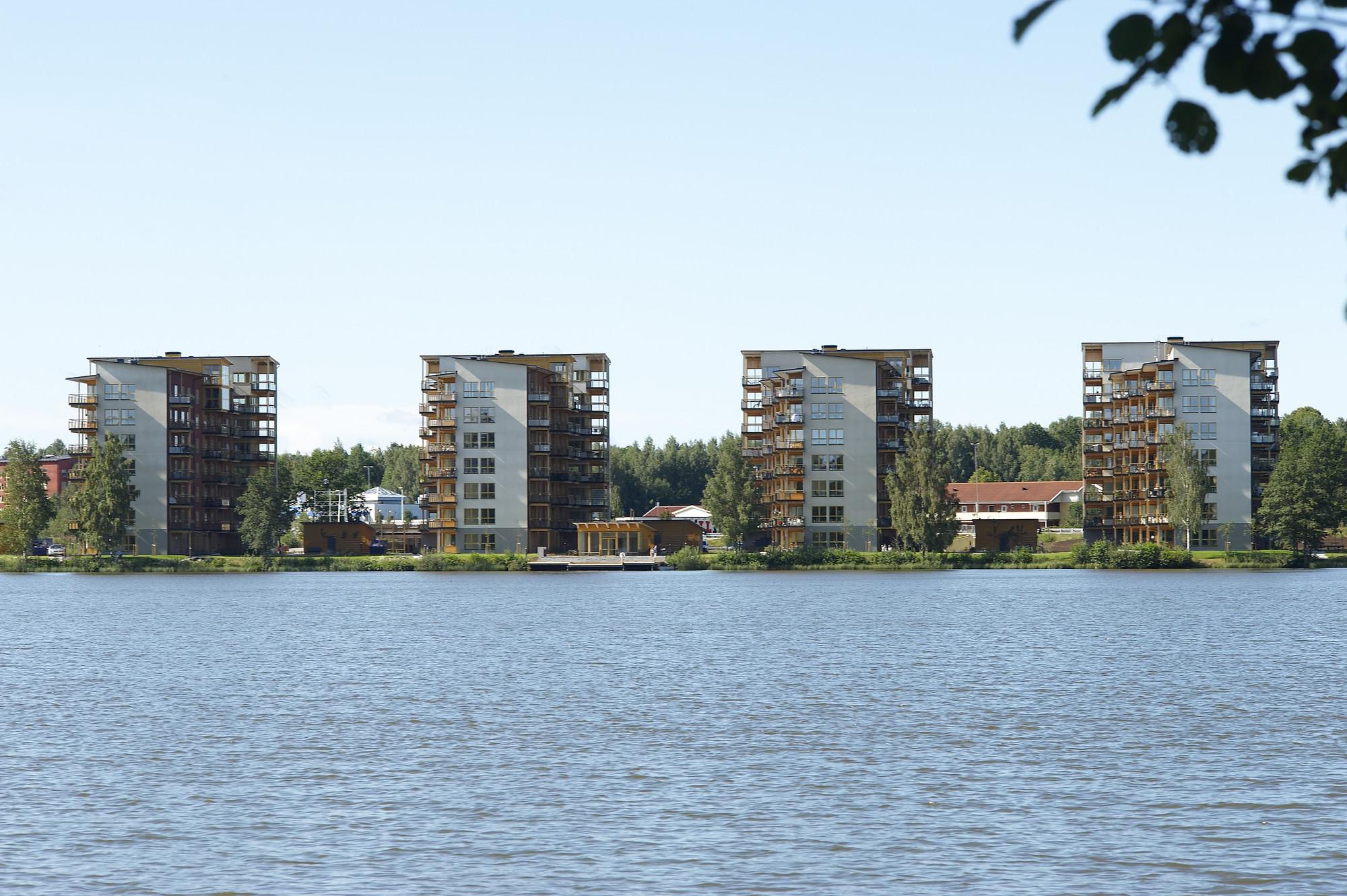Limnologen in Växjö, Sweden. Image Courtesy of Midroc Property Development