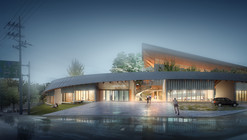 Competition Entry: NOA's Proposal for Dalseong Citizen's Gymnasium