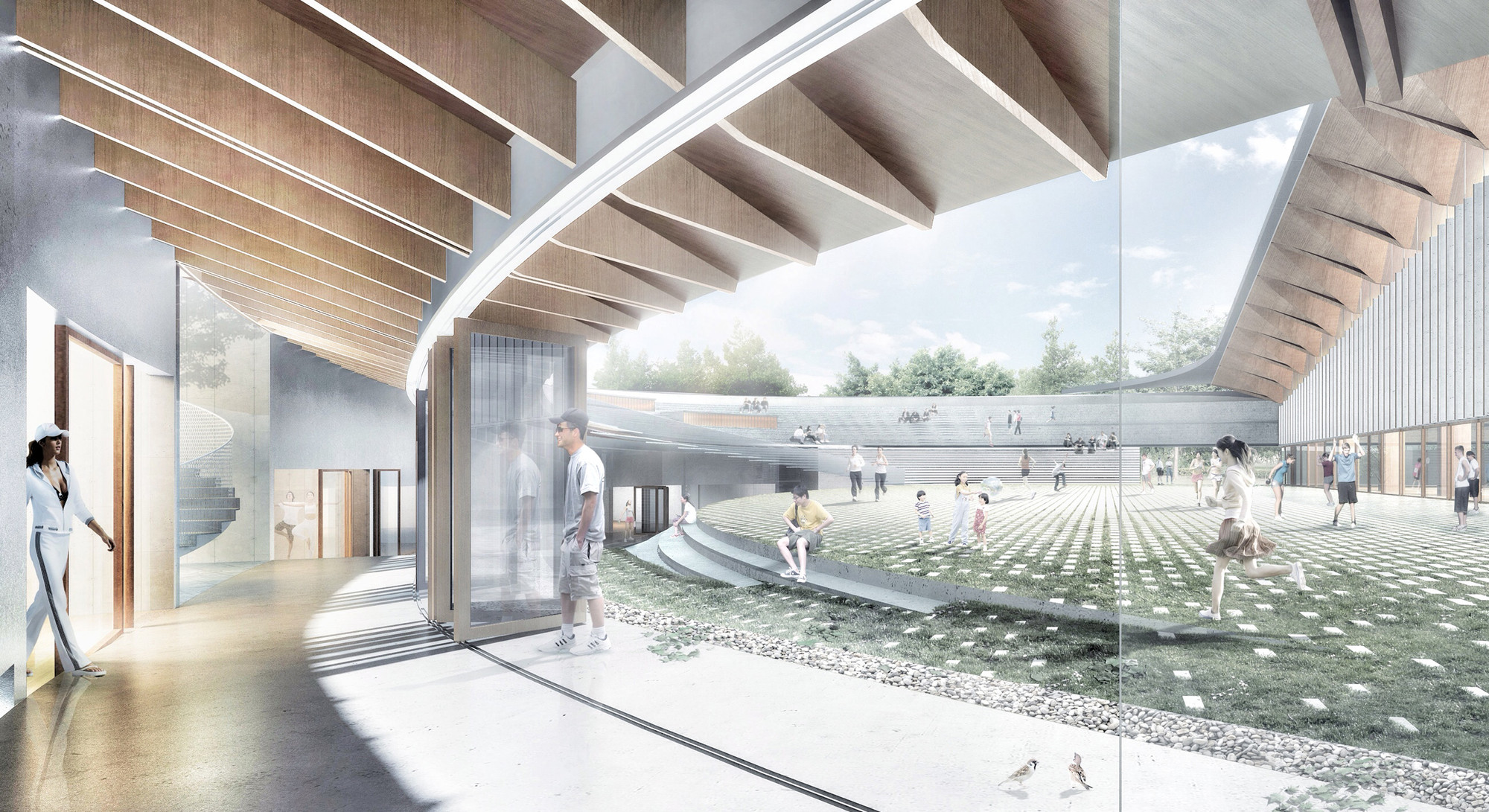 Gallery of competition entry noa s proposal for dalseong for Schule design