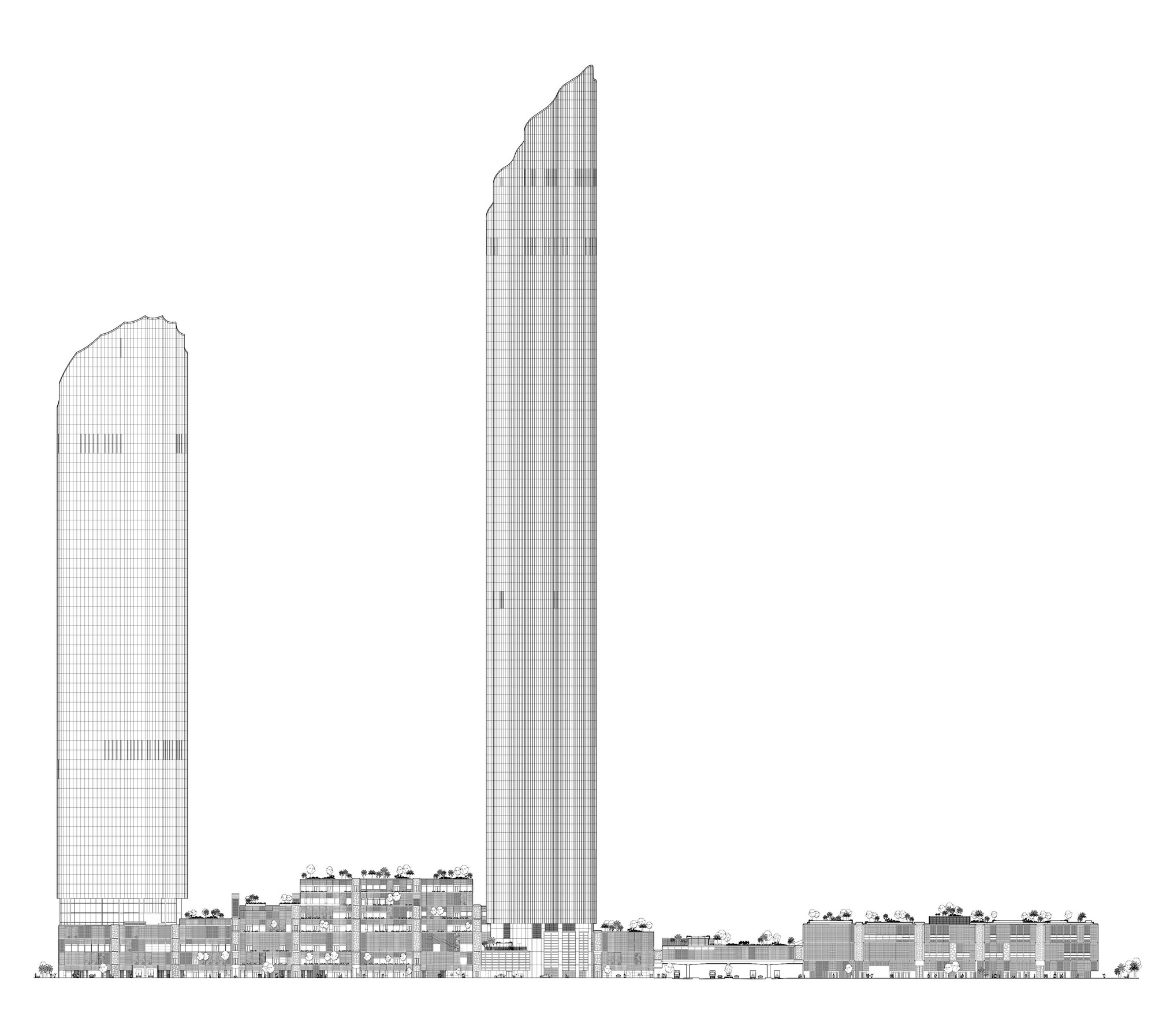 Elevation Floor Plan Gallery Of Abu Dhabi Central Market Foster Partners 30