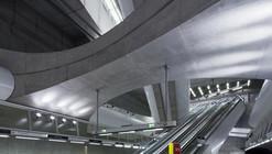 Budapest Underground Line M4 - Kálvin tér Station / PALATIUM Studio