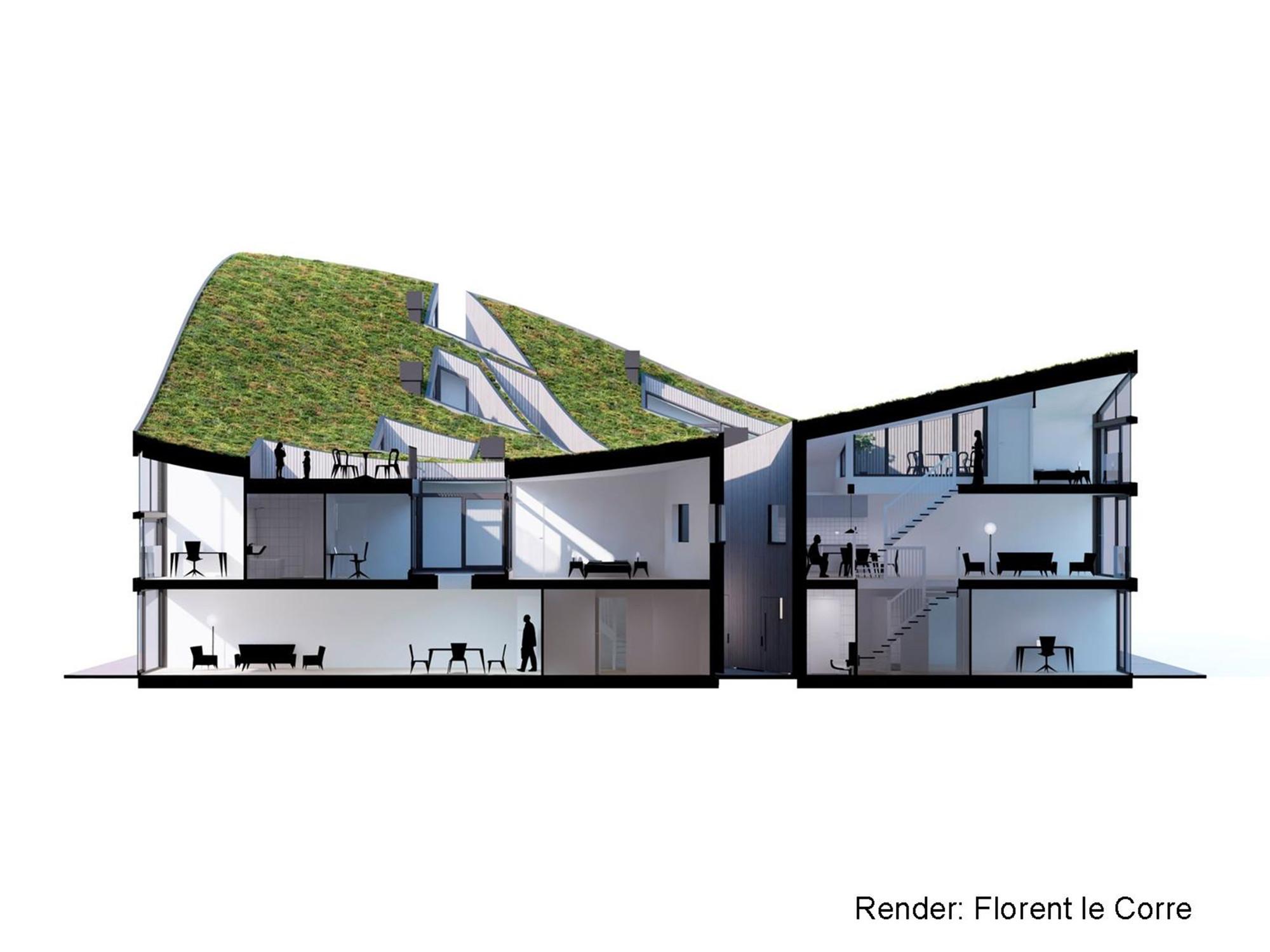 Gallery of funen blok k verdana nl architects 40 for Nl house plans