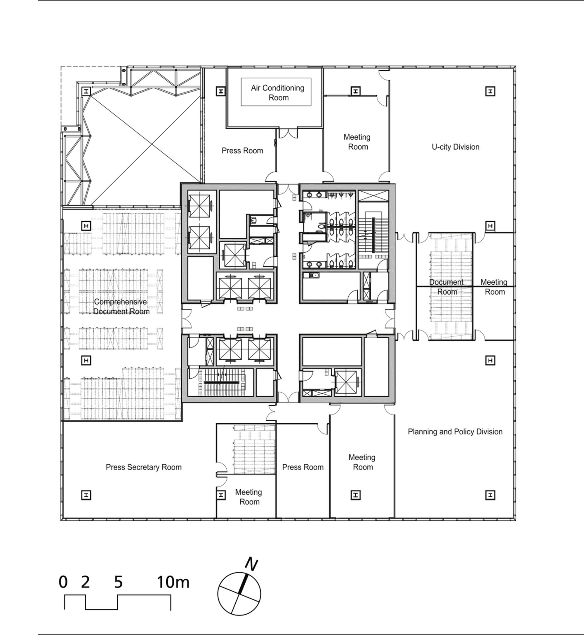 Galeria De G Tower Haeahn Architecture Designcamp