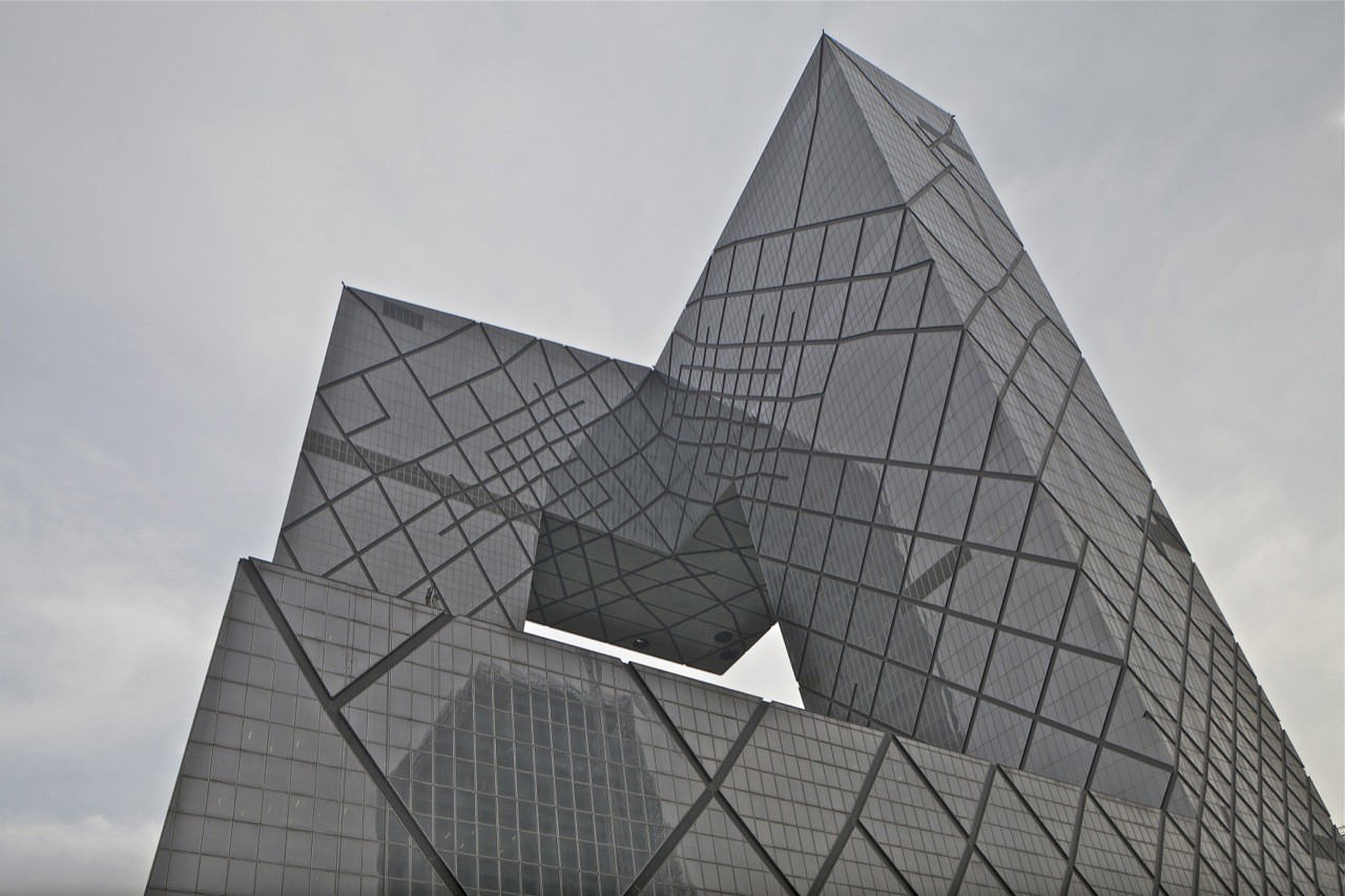 "The building has been nicknamed ""Big Pants"" by the people of Beijing. Image © OMA / Philippe Ruault"